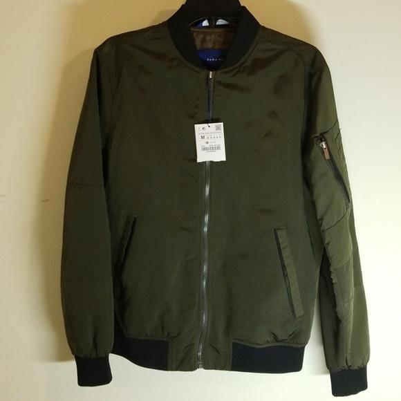 Zara Jackets Coats Bomber Jacket For Men Brand New Poshmark
